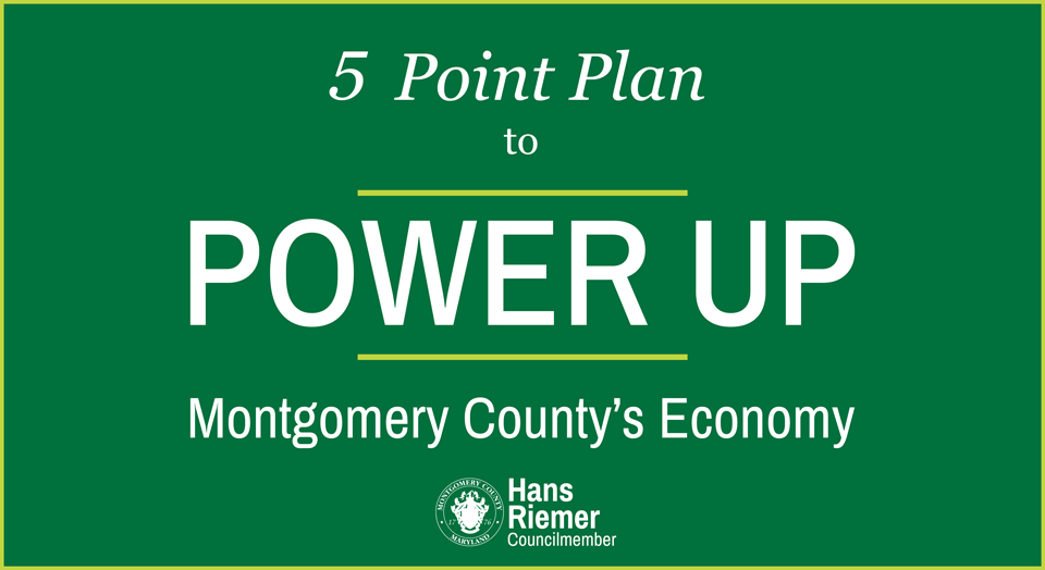 5 point plan to power up Montgomery County's economy