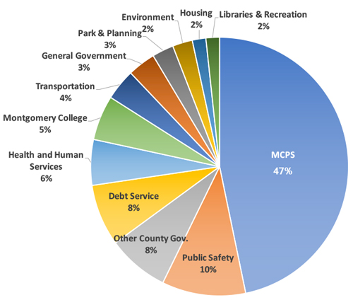 County Expenditures Pie Chart