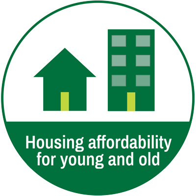 Affordable housing for young and old